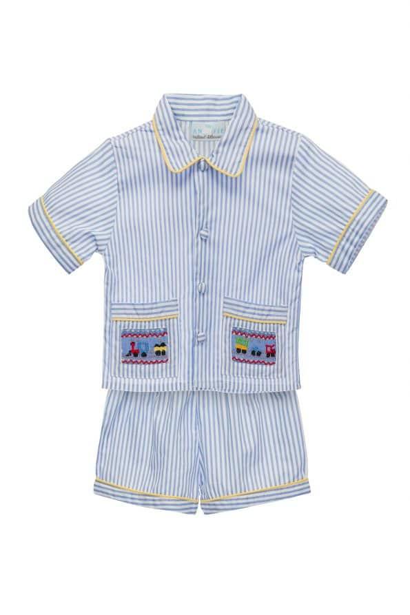 Annafie Short Boys Pajamas
