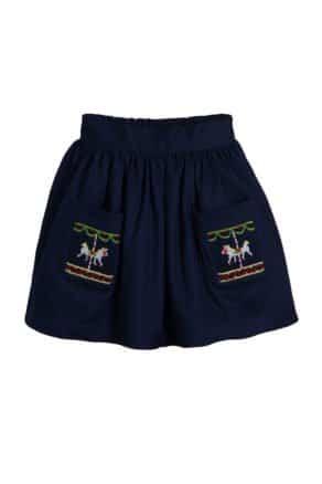 Horse Carousel skirt
