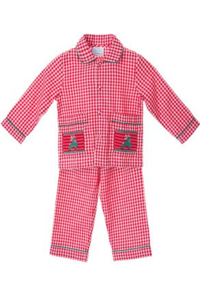 Rudolph Smocked Pyjamas