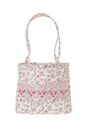 Ophelia smocked handbag